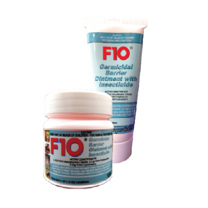 F10 Germicidal Barrier Ointment with Insecticide - from £12.09